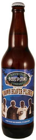 Blue Point Brown Beaver Pilsner