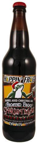 Hoppin� Frog Barrel Aged Frosted Frog Christmas Ale
