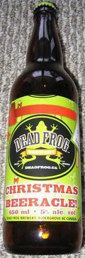 Dead Frog Christmas Beeracle