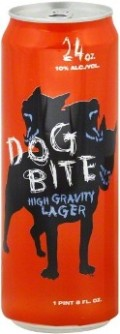 Dog Bite High Gravity Lager 10%