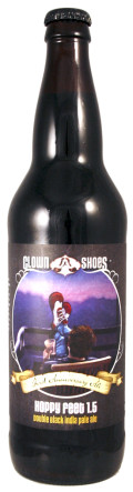 Clown Shoes Hoppy Feet 1.5 Double Black IPA