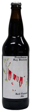 Penobscot Bay Red Flannel Ale