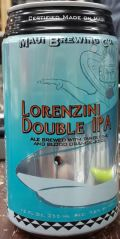 Maui Brewing Lorenzini Double IPA (6th Sense)