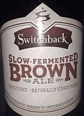 Switchback Slow-Fermented Brown Ale
