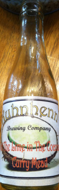 Kuhnhenn Put the Lime in the Coconut Curry Mead - Mead
