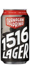 Okanagan Spring 1516 Bavarian Lager