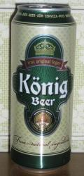 K�nig Beer (Hungary) - Pale Lager