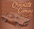 Half Acre Chocolate Camaro