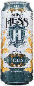 Mike Hess Solis Occasus (WestCoaster) IPA - India Pale Ale (IPA)