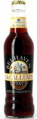 Belhaven McCallums Stout (Bottle & Can)