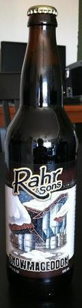 Rahr & Sons Snowmageddon