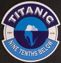 Titanic Nine Tenths Below