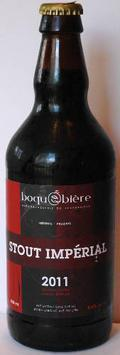 Boqu�bi�re Stout Imp�rial 2011
