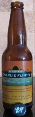 Alley Kat Charlie Flints's Organic Lager