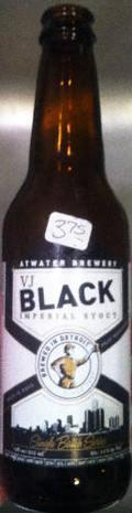 Atwater VJ Black Imperial Stout