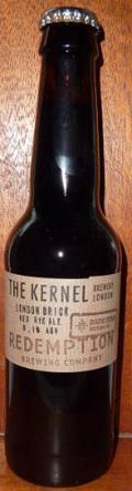 The Kernel / Dark Star / Redemption London Brick Red Rye Ale
