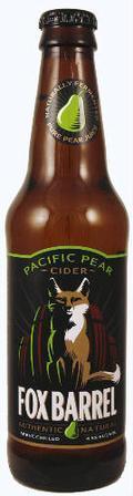 Fox Barrel Pacific Pear Cider
