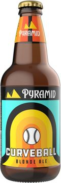 Pyramid Curve Ball Blonde Ale