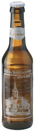 Loscher M�nchsteinacher Zwickel Pils