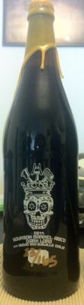 Three Floyds Bourbon Barrel Aged Dark Lord De Muerte