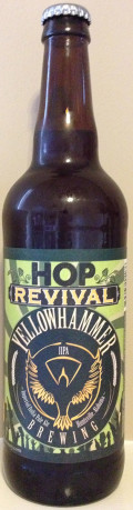 Yellowhammer Hop Revival Imperial IPA