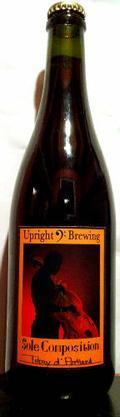 Upright Sole Composition: Tokay d� Portland - Sour/Wild Ale
