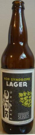 Epic Hop Syndrome Lager  - Premium Lager