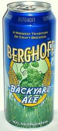 Berghoff Backyard Ale