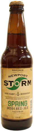Newport Storm Spring Ale (Irish Red)
