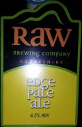 Raw Edge Pale Ale