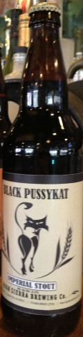 High Sierra Black Pussy Kat Imperial Stout