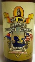 Dry Dock Colorado Freedom Memorial Blonde Ale