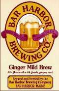 Bar Harbor Ginger Mild Brew