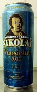 Sinebrychoff Panimomestarin Nikolai Vuosiolut 2012 4.5%