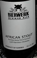 Bierwerk African Stout