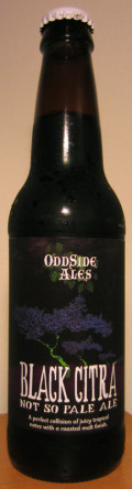 Odd Side Ales Black Citra Not So Pale Ale
