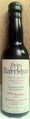 Garrigues Nuit de Goguette vieillie en barrique de Cognac - Barley Wine