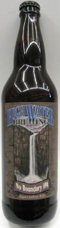High Water No Boundary IPA - India Pale Ale (IPA)