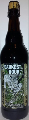 Anchorage Darkest Hour Imperial Stout (2013)