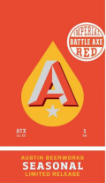Austin Beerworks Battle Axe Imperial Red Ale