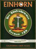 Einhorn Der Hopfenhammer - India Pale Ale (IPA)