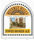 Beverly Hills Power Broker Ale - American Strong Ale