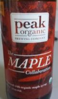 Peak Organic The Maple Collaboration