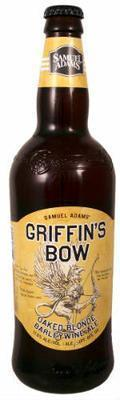 Samuel Adams Griffin's Bow Oaked Blonde Barleywine Ale
