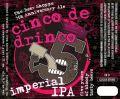 Iron Horse Cinco de Drinco Imperial IPA - Imperial IPA