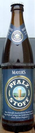 Mayers Pfalzstoff - Pilsener