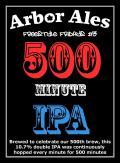 Arbor FF #03 500 Minute IPA - Imperial IPA