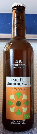 N�rrebro Pacific Summer Ale (�kologisk) - Golden Ale/Blond Ale