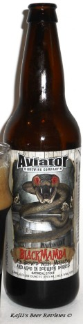 Aviator Bourbon Barrel Aged Black Mamba