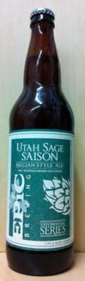 Epic Utah Sage Saison